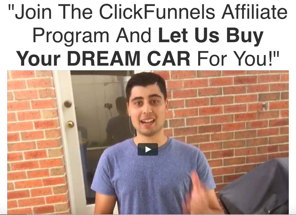 How to use Clickfunnels affiliate bootcamp Join The ClickFunnels Affiliate Program And Let Us Buy Your DREAM CAR For You!