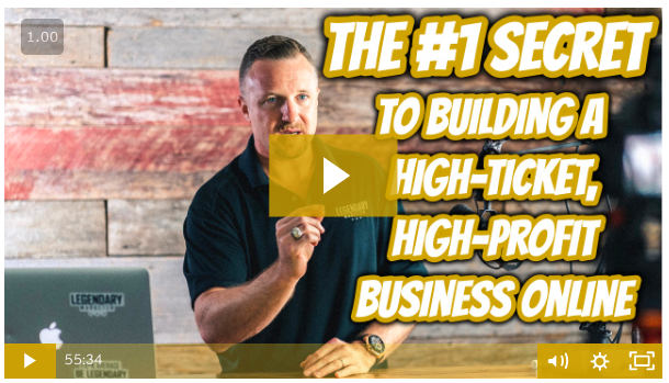 The #1 Secret to Build a High-Ticket, High-End Business Online.