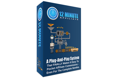 Affiliate Marketing  12 Minute Affiliate System Size Dimensions