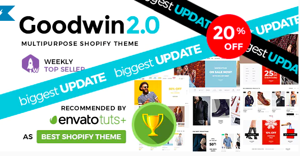Best Shopify Themes - Goodwin - Ultimate Responsive Shopify Theme