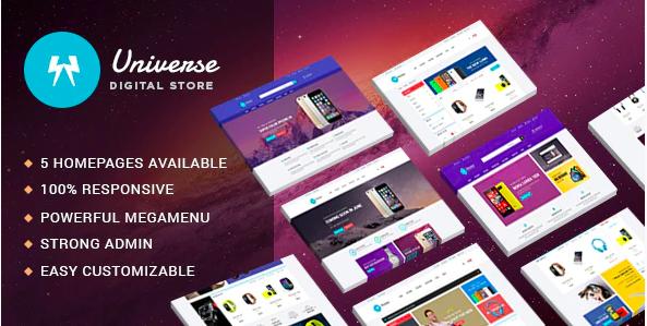 Top Shopify Themes - Leo Universe - Electronics & Digital Store Prestashop 1.6 & 1.7 Theme