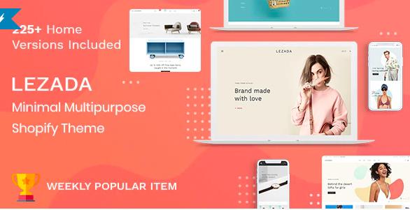 Top Shopify Themes - Lezada - Multipurpose Shopify Theme