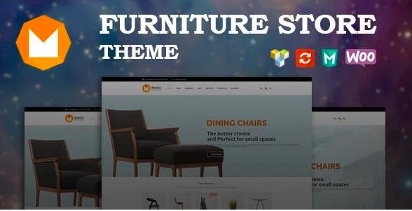Top Shopify Themes - Mobilia - Furniture WooCommerce WordPress Theme