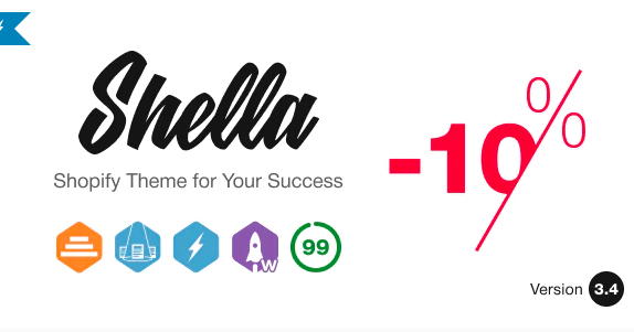 Top Shopify Themes - Shella - Multipurpose Shopify theme, fastest with the banner builder