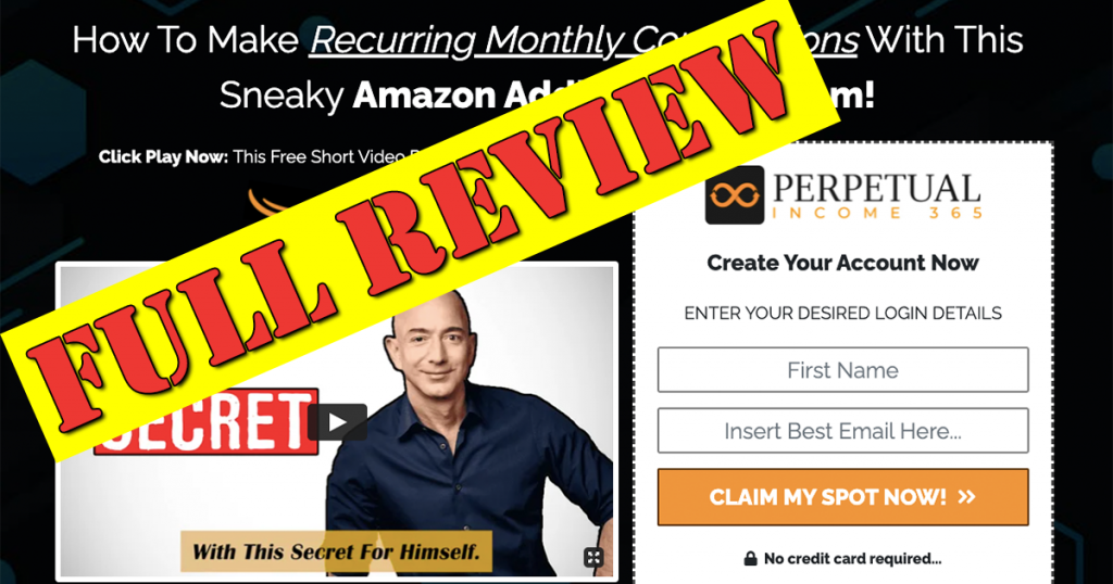 Review of Perpetual Income 365 An Online Income Source