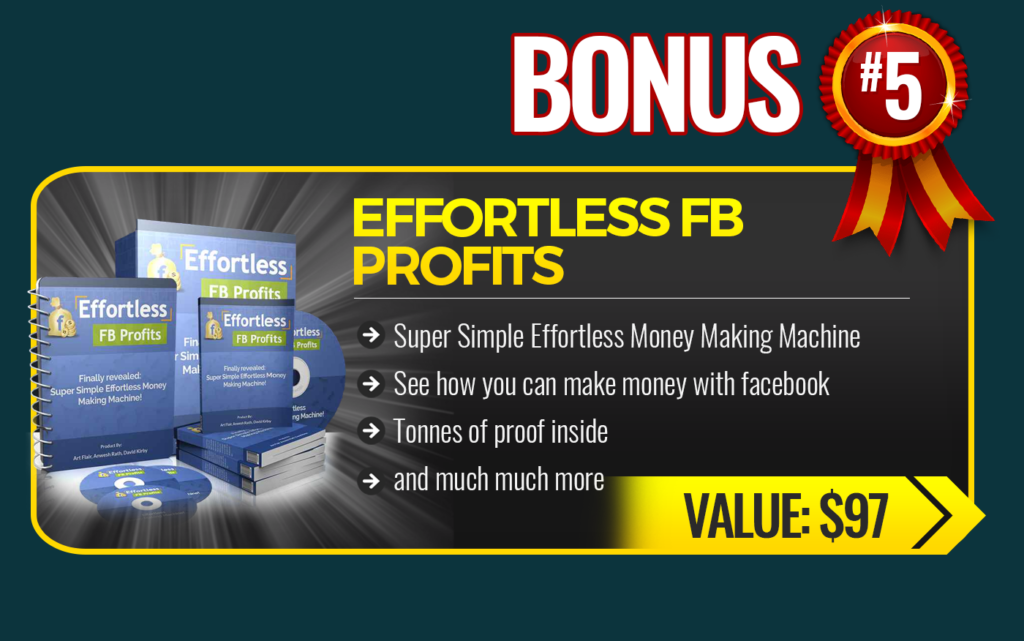 Traffic Mate Review Effortless FB Profits bonus 5