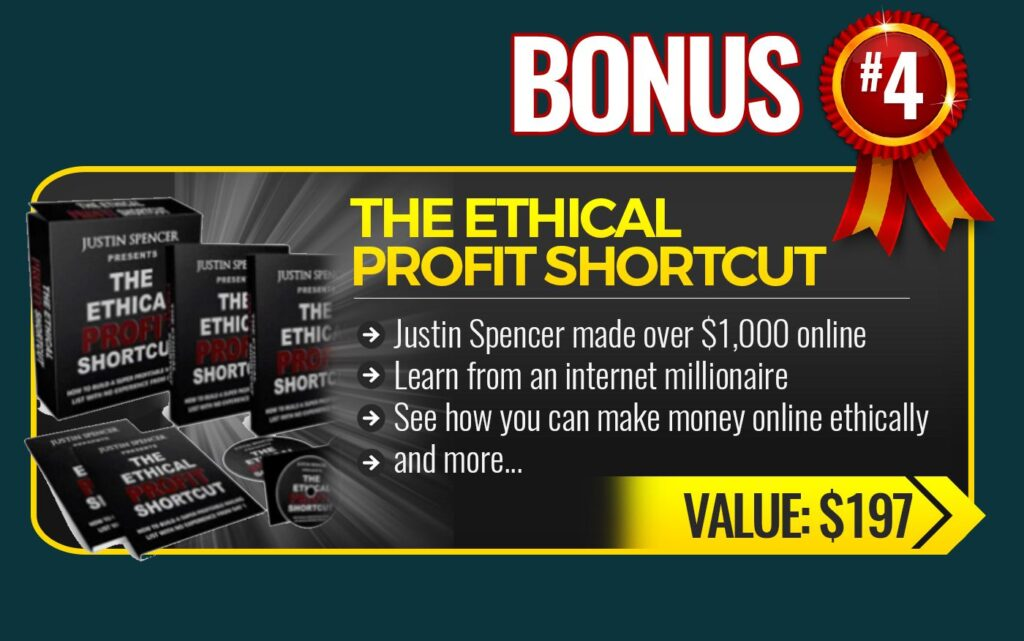 Traffic Mate Review the ethical profit shortcut bonus 4